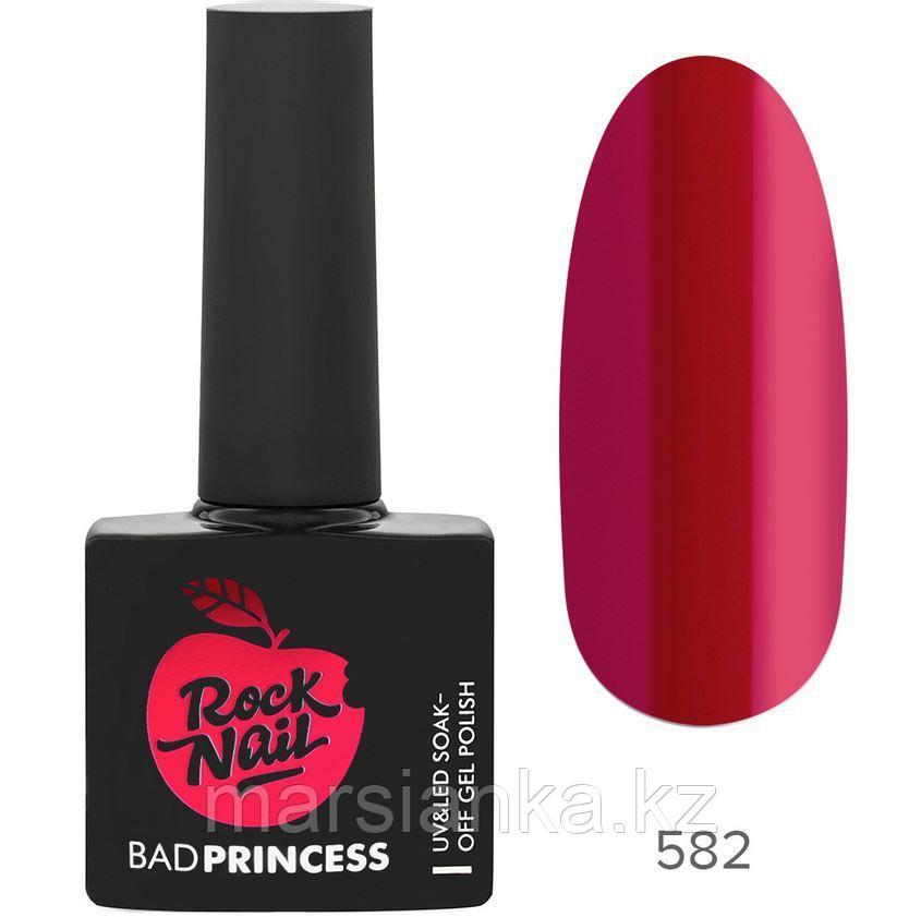 Гель-лак RockNail Bad Princess #582, 10мл