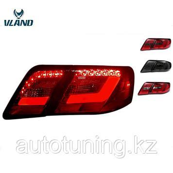 Светодиодные фонари в стиле LEXUS на Toyota Camry 40-45 2006-2011 г.