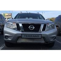 Защитная сетка/решетка радиатора для Nissan Terrano/Ниссан Террано 2014-