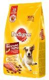 Pedigree Говядина, 2,2кг для собак мелких пород Сухой корм, фото 1