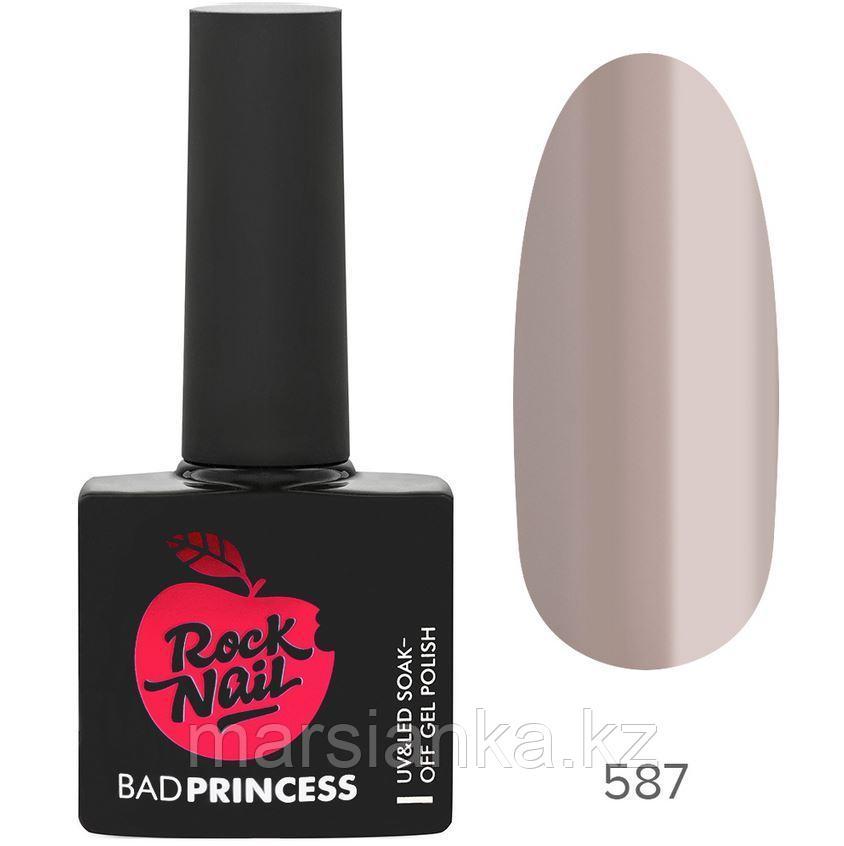 Гель-лак RockNail Bad Princess #587 Glass Stiletto, 10мл