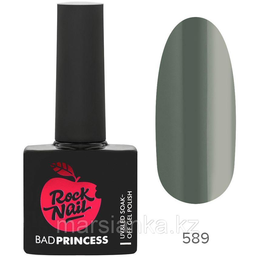 Гель-лак RockNail Bad Princess #589 Long Hair Don't Care, 10мл