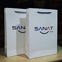 Изготовление бумажных  подарочных пакетов