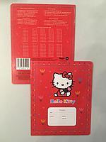 Общая тетрадь 12 листов, Hello kitty