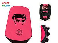 Макивара для отработки ударов ногами Venum кожа (розовый)