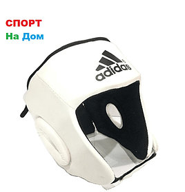 Боксёрский шлем  Adidas Размер L  Кожзам (цвет белый)