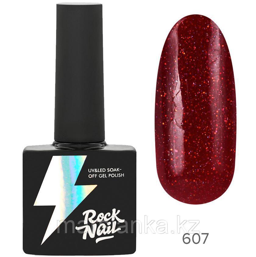 Гель-лак RockNail Basic #607 Lakshery, 10мл