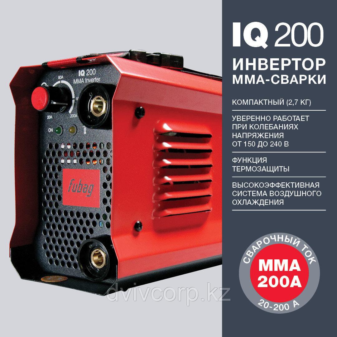 FUBAG Инвертор сварочный IQ 200