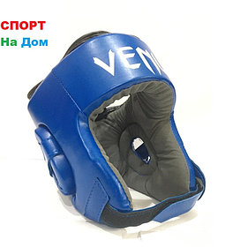 Боксёрский шлем  Venum Размер S Кожзам (цвет синий)