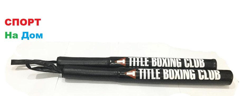 Лападаны (палки для уклонов в боксе) черные, фото 2