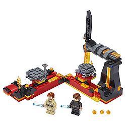 Lego Игрушка Звездные войны Бой на Мустафаре