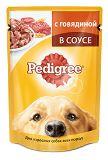 Pedigree 100г с говядиной Влажный корм Для взрослых собак всех пород Педегри, фото 1