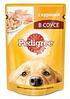 Pedigree 100г  с курицей Педегри Влажный корм Для взрослых собак всех пород