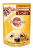 Pedigree 100г с говядиной и ягненком Влажный корм Для взрослых собак всех пород