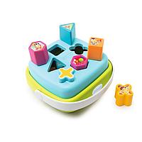 Развивающая игрушка сортер-корзинка Smoby Cotoons голубой, фото 1