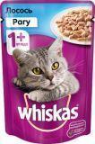 Whiskas рагу Лосось Вискас пауч для кошек, 85г., фото 1