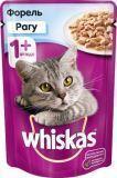 Whiskas рагу форель Вискас пауч для кошек, 85г., фото 1
