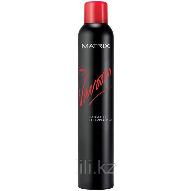 Лак-спрей экстрасильной фиксации - Matrix Vavoom Extra Full Freezing Spray 500 мл.