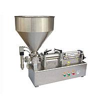Настольный поршневой дозатор для пастообразных продуктов HUALIAN PPF-50T