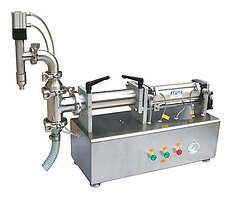 Настольный поршневой дозатор для жидких продуктов HUALIAN LPF-2000T