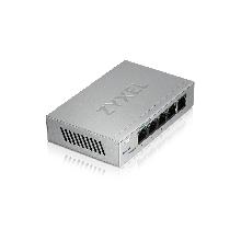 Zyxel GS1200-5 Smart коммутатор 5xGE, настольный, бесшумный, с поддержкой VLAN, IGMP, QoS и Link Aggregation