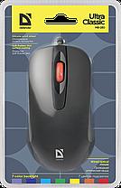 Мышь проводная Defender Ultra Classic MB-280 7цветов,3кнопки,1000dpi,черный, фото 2