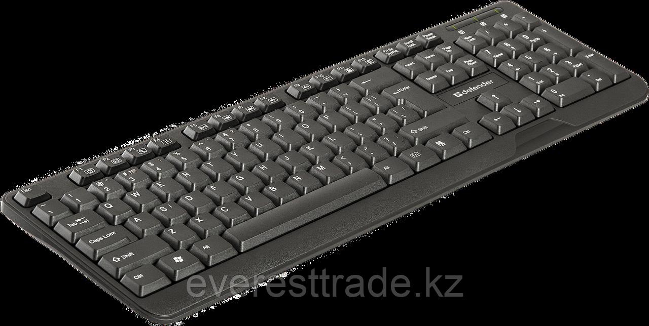 Клавиатура проводная Defender OfficeMate HM-710 KZ