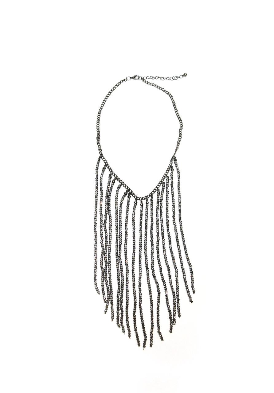 Колье бисер  Brosh Jewellery. Тренд 2020г