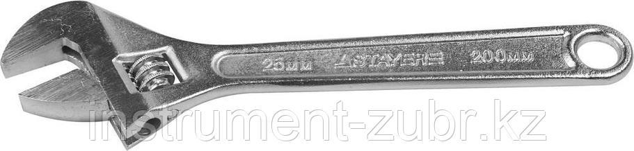 Ключ разводной, 200 / 25 мм, STAYER, фото 2