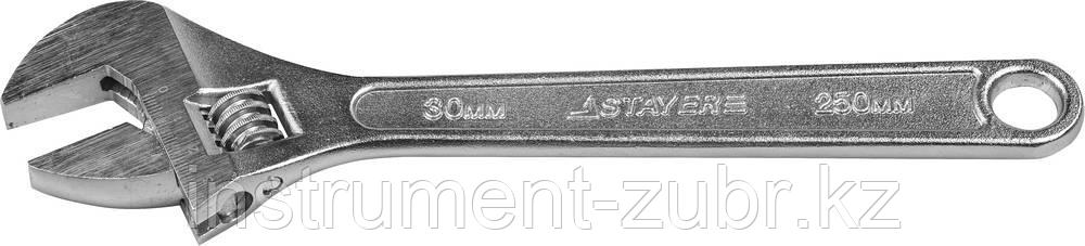 Ключ разводной, 250 / 30 мм, STAYER
