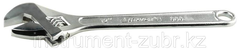 Ключ разводной, 300 / 35 мм, STAYER, фото 2