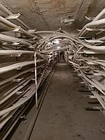 Главная распределительная энергостанция. Огнезащитная обработка кабелей. 4