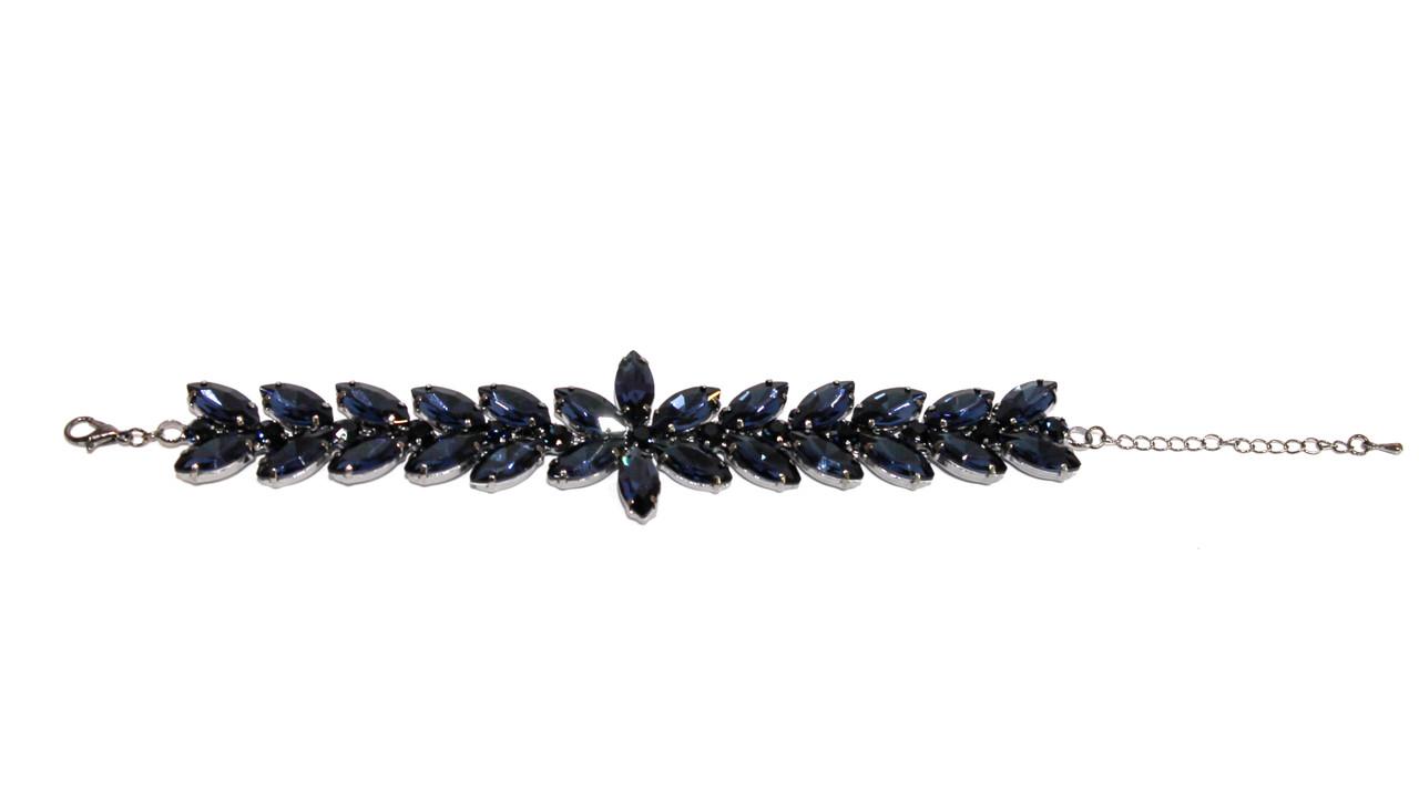 Вечерние браслеты Brosh Jewellery.  Кристалл Тренд 2020г.
