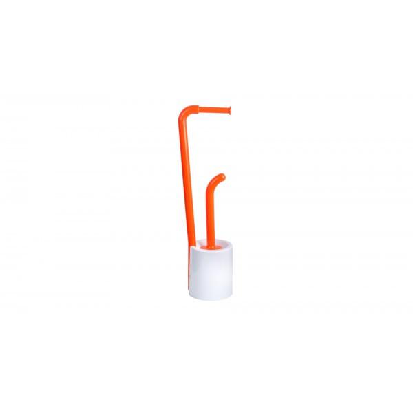 """FIXSEN """"WENDY"""" Стойка напольная б/д + ерш оранжевая FX-7032-93 (к/к 8)"""