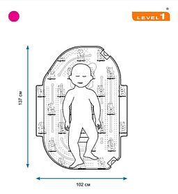 Большое подкладное детское одеяло SWU-2011 102 x 137 см, 10 шт