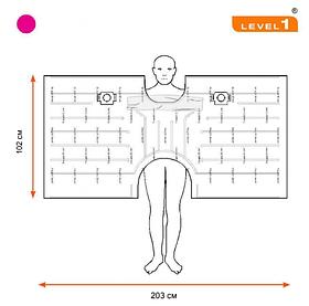 Согревающие конвекционное взрослое одеяло SWU-2003, 10 шт./упаковка