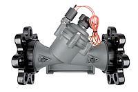 Высокоэффективный пластиковый клапан с гидравлическим регулированием и электромагнитным управ-ем 3' RAIN BIRD, фото 1