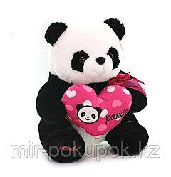 """Мягкая игрушка """"Панда с сердцем"""" 32 см"""