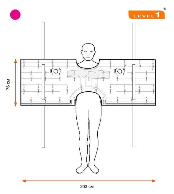 Согревающее конвекционное одеяло SWU-2010, 203 x 76 см, 10 шт./упаковка