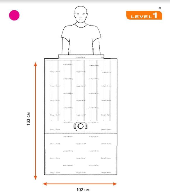 Конвекционное одеяло для взрослых SWU-2004, 102 x 163 см, 10 шт./упаковка