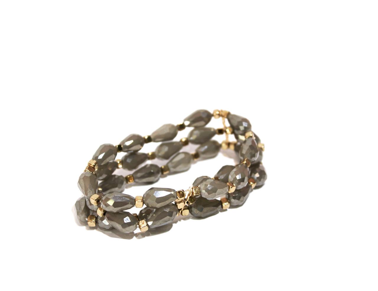 Вечерние браслеты Brosh Jewellery.  Бисер, Тренд 2020г.