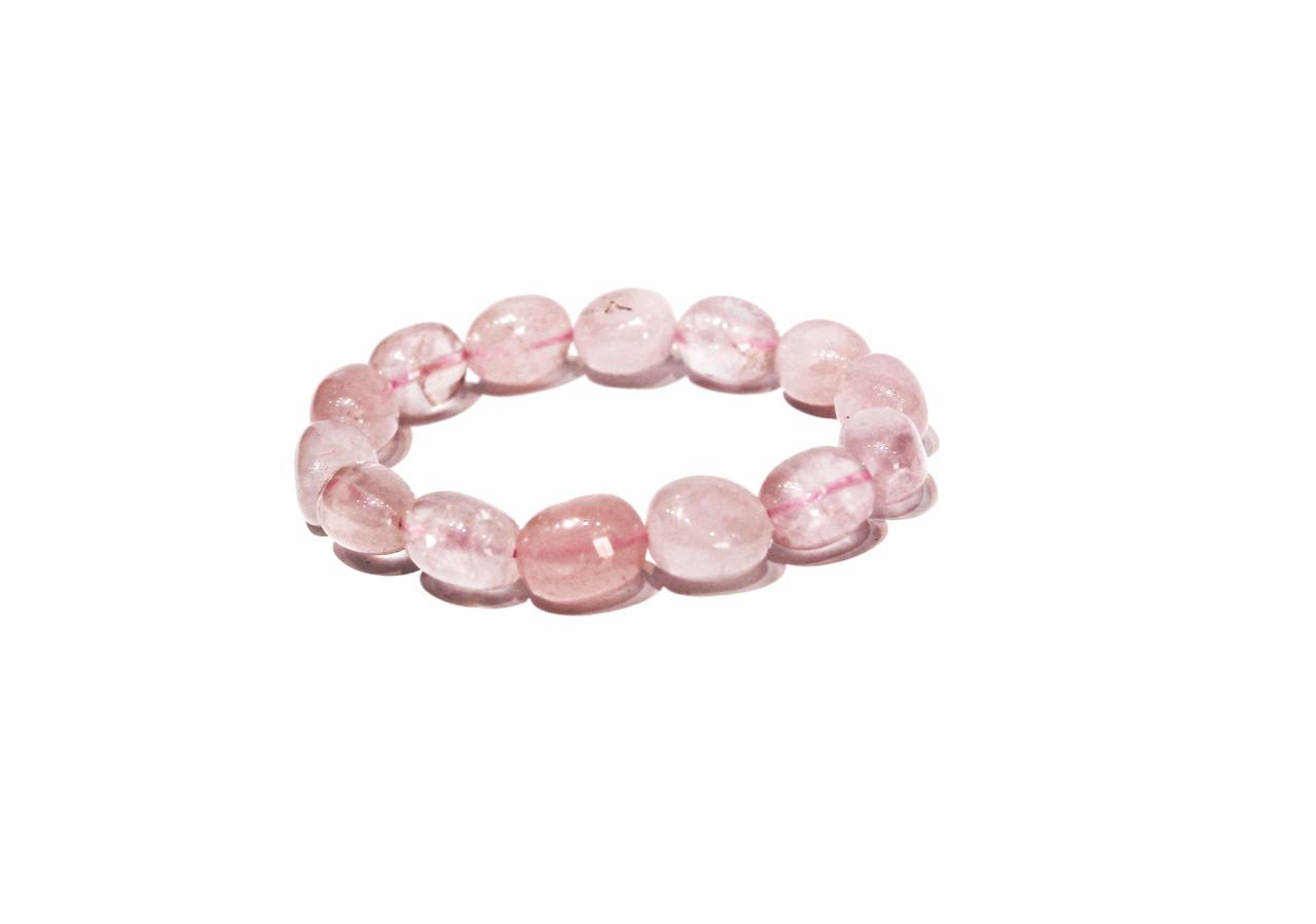 Браслеты розовый кварц Brosh Jewellery.