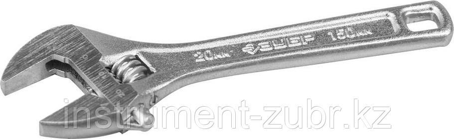 Ключ разводной ЭКСПЕРТ, 150 / 20 мм, ЗУБР, фото 2