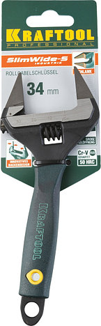 Ключ разводной SlimWide-S, 150 / 34 мм, KRAFTOOL, фото 2