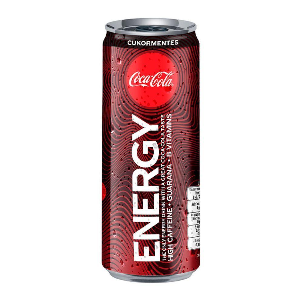 Coca-Cola Energy /Без Сахара/ 250ml (12шт-упак)