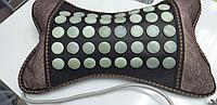 Нефритовая массажная подушка электрическая для лечения остеохондроза и многих других заболеваний., фото 1