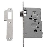 TESA 134UP5R/50 HL замок для санузловых дверей, В:50 мм, латунь