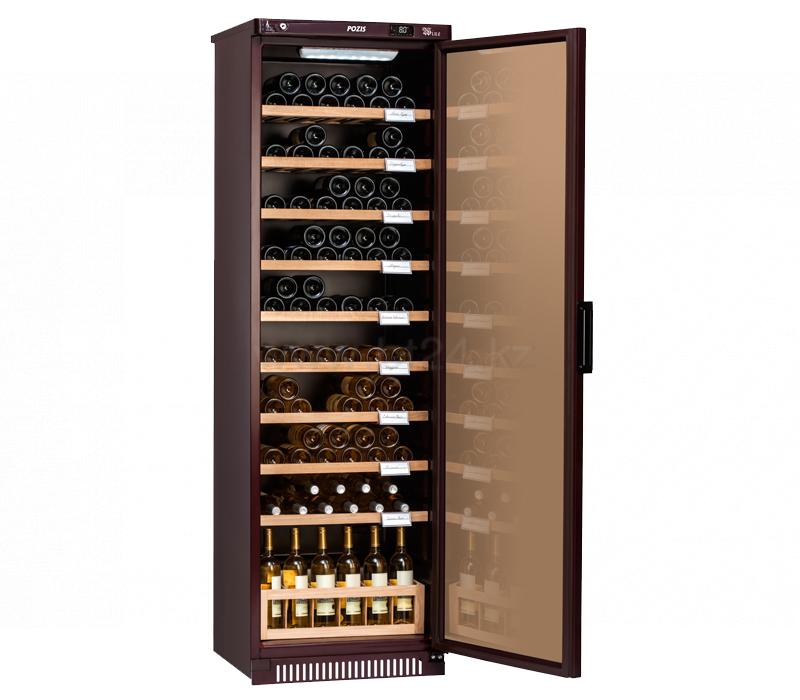 Шкаф винный Pozis ШВ-120 вишневый
