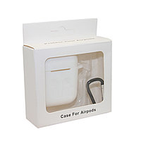Чехол Silicone Case Белый для Airpods