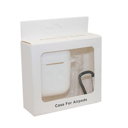 Чехол Silicone Case Белый для Airpods, фото 2
